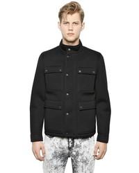 Neil Barrett Lightweight Neoprene Military Jacket