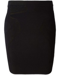 Alexander Wang Mesh Panel Mini Skirt