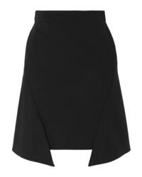 Alexander McQueen Asymmetric Jersey Mini Skirt