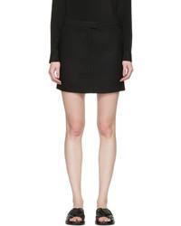 3.1 Phillip Lim Black Tailored Miniskirt
