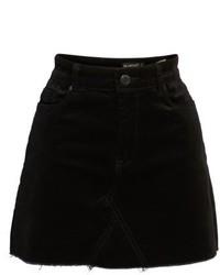 Blanknyc raw edge miniskirt medium 5256077