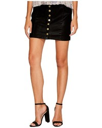 Bishop + Young Button Up Mini Skirt Skirt