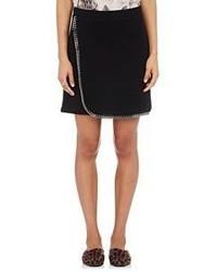 Stella McCartney Chain Embellished Miniskirt Black