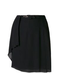 Giorgio Armani Vintage Creased Short Skirt