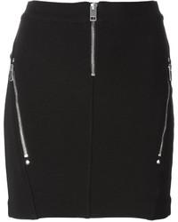 Diesel Yusra Zips Mini Skirt