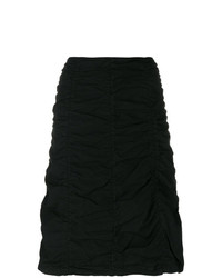 Romeo Gigli Vintage Gathered Short Skirt