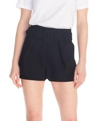 Maje Ikaren Overlay Miniskirt