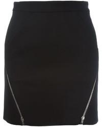 IRO Zip Detail Mini Skirt