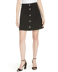 kate spade new york Jewel Button Miniskirt
