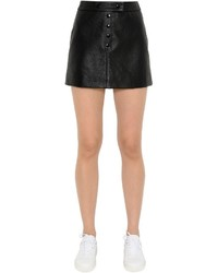 Courreges Matte Vinyl Mini Skirt