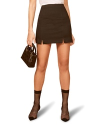 Reformation Oak Miniskirt