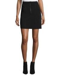 A.L.C. Porter A Line Crepe Mini Skirt