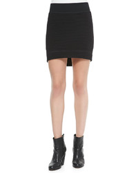 Rag and Bone Rag Bone Sloane Ribbed Mini Skirt