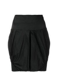 Giorgio Armani Vintage Ruched Mini Skirt