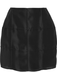 Fendi Silk Gazar Mini Skirt