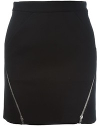 Zip detail mini skirt medium 660908