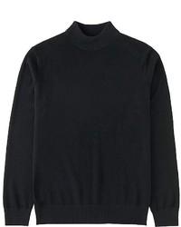 Uniqlo Cashmere Mock Neck Sweater