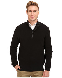Kenneth Cole Sportswear 12 Zip Mock With Coating