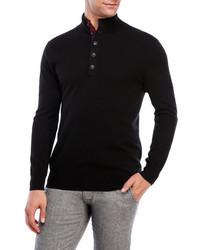 State Cashmere Cashmere Mock Neck Sweater