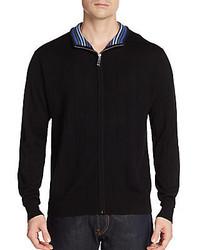 Tailorbyrd Vandy Wool Zip Sweater