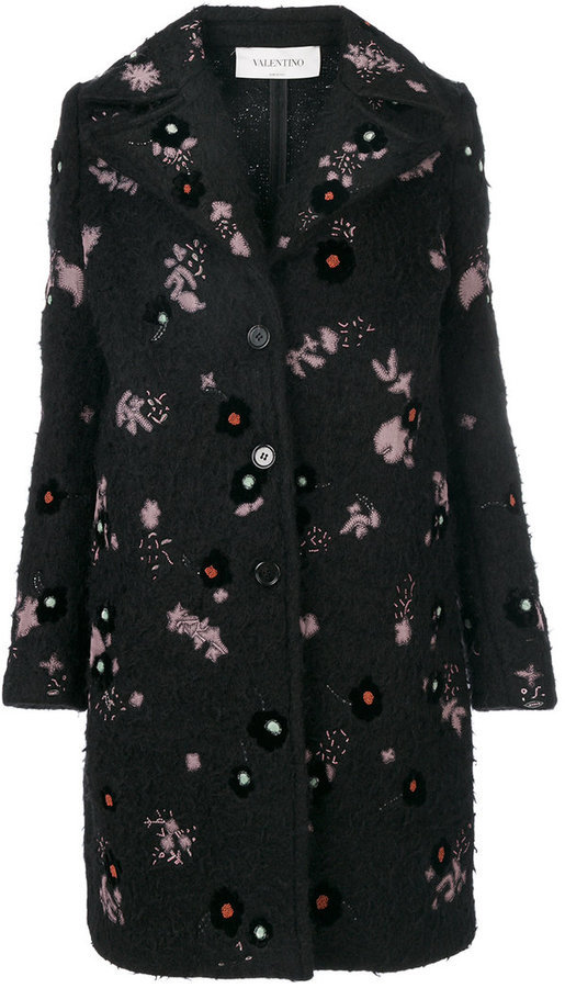 Valentino Embroidered Coat