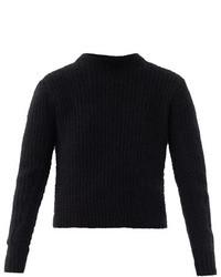 3.1 Phillip Lim Angora Ribbed Knit Sweater