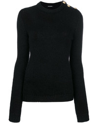 Ribbed button jumper medium 4471312