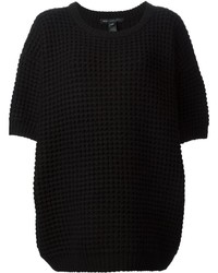 Marc by Marc Jacobs Chunky Knit Short Sleeved Sweater