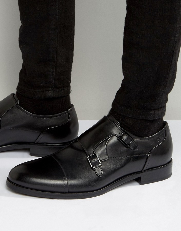 f8068d1f825f0 $332, Hugo Boss Boss Hugo By Tempt Toe Cap Monk Shoes
