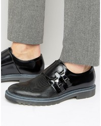 Hugo Boss Hugo By Pure Buckle Monk Shoes