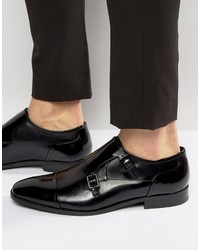 Hugo Boss Hugo By Square Hi Shine Monk Shoes