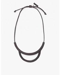 Arc Necklace In Black