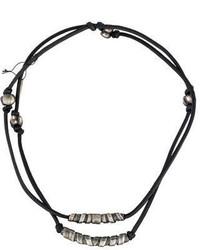 Bottega Veneta Leather And Bead Necklace