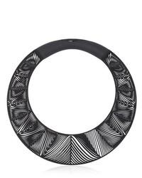 Chevron Giant Torque Necklace