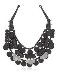Ethnic Moonless Night Silicone Necklace