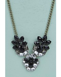 Boohoo Hannah Floral Statet Necklace