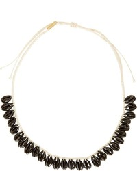 Isabel Marant Black Seashell Necklace