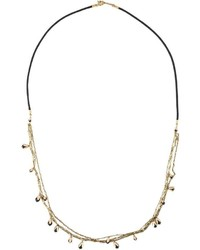 Isabel Marant Chain Bead Rope Necklace