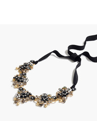 J.Crew Midnight Crystal Necklace