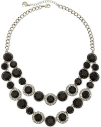 jcpenney Monet Jewelry Monet Multicolor Crystal Silver Tone Statet Necklace