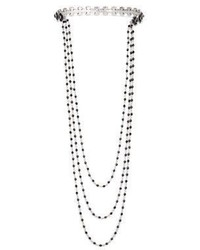Marc Jacobs Jet Night Chain Choker Necklace