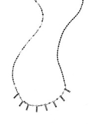 Lana Jewelry Reckless Mini Bar Station Necklace