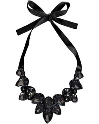 Boohoo Kia Ribbon Tie Statet Necklace