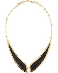 Maiyet Black Horn Butterfly Necklace