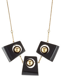 Marni Statet Necklace With Wood