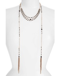 Treasure & Bond Multistrand Station Necklace
