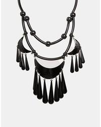 Pieces Ammukka Necklace Black
