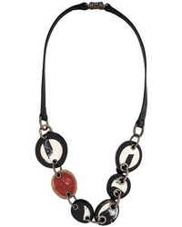 Marni Resin Horn Disc Necklace