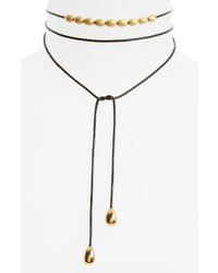Elizabeth and James Rosa Dottie Convertible Wrap Necklace