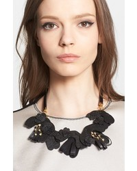 Marni Saffiano Leather Necklace